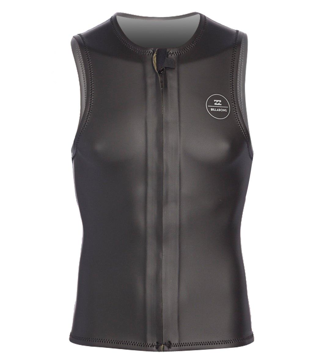 Billabong Men s 2 2mm Revolution GBS Front Zip Wetsuit Vest at ... ec8f0f089