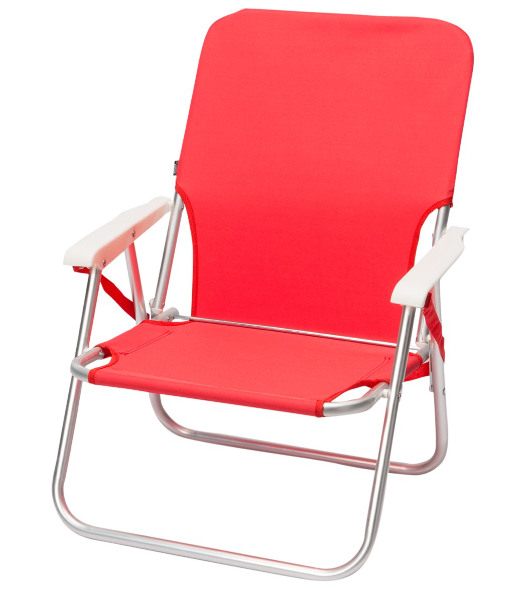 Red Sling Strap Beach Chair Share