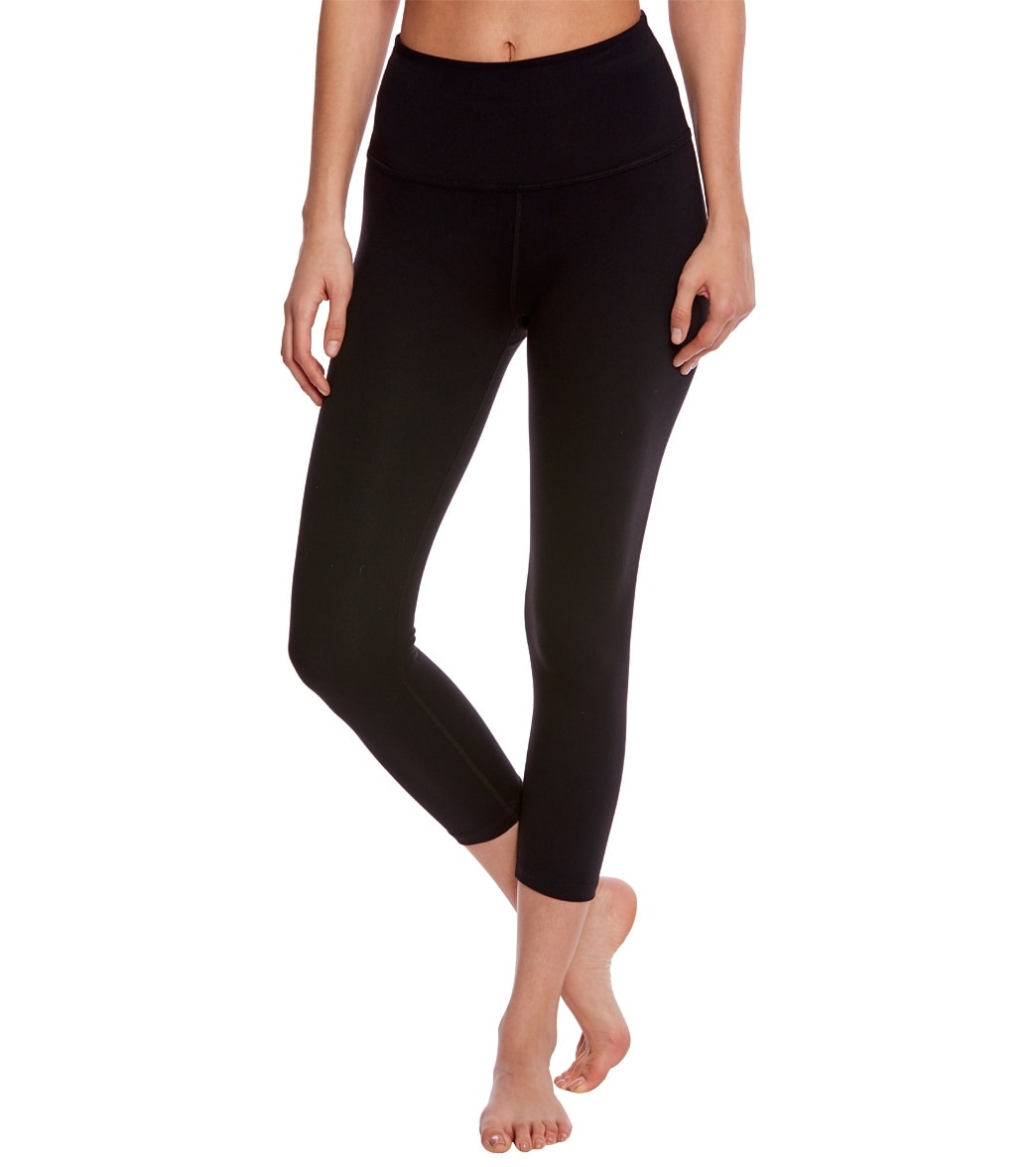 Beyond Yoga High Waist Yoga Capris at YogaOutlet.com - Free Shipping