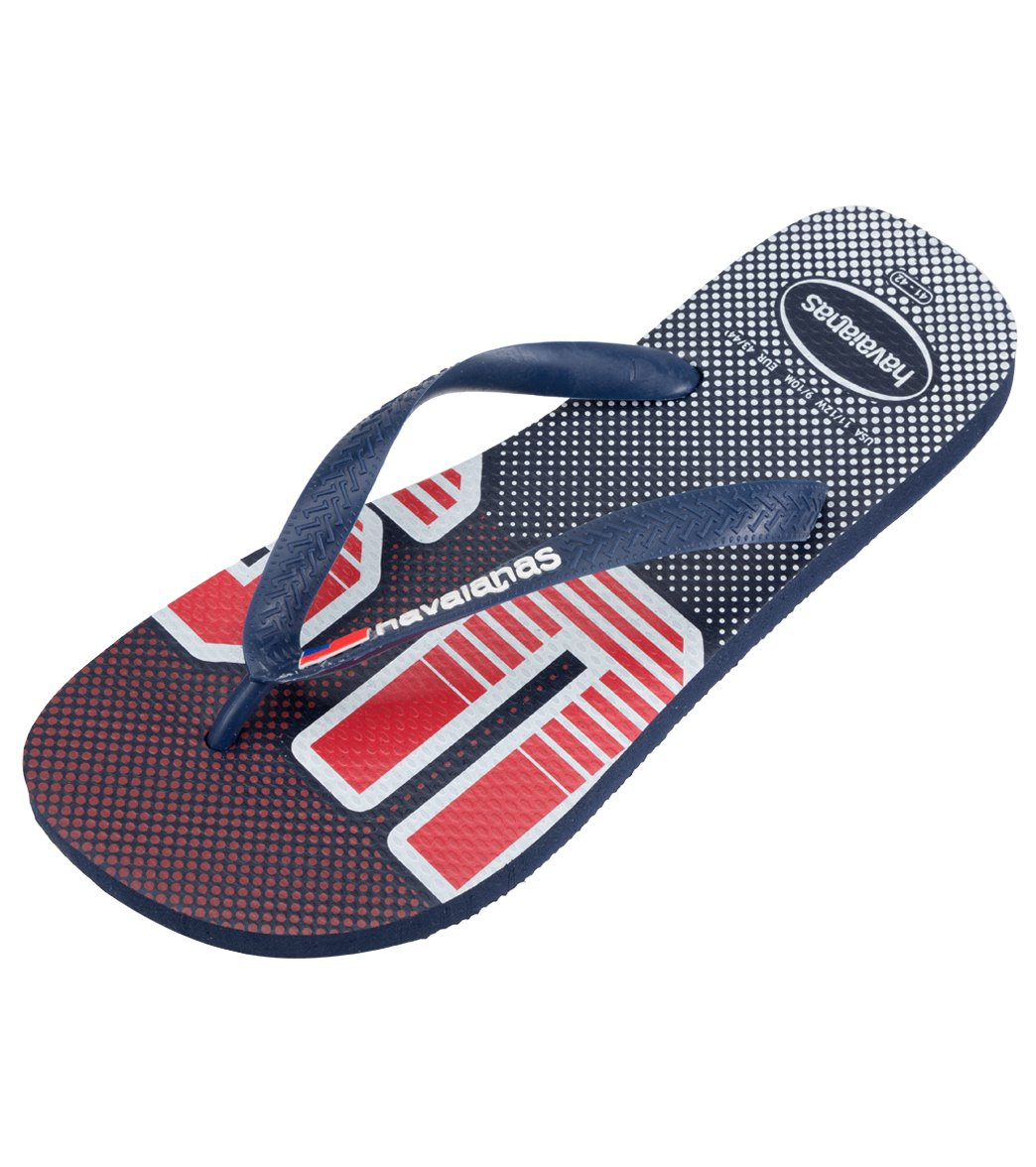 c3b3baf70 Havaianas Men s Top USA Flip-Flop at SwimOutlet.com