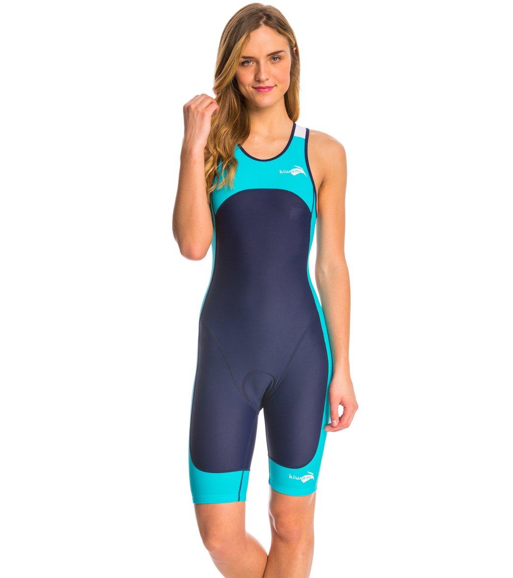 96f69dd27c5 Kiwami Women s Prima Openback Trisuit at SwimOutlet.com - Free Shipping