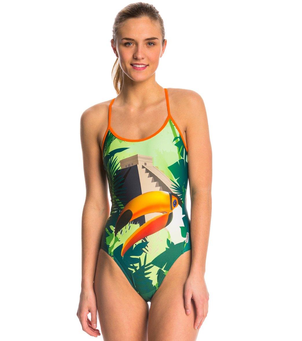 f67bfb3daf670 Kiwami Women's Moana 1 Piece Swimsuit at SwimOutlet.com - Free Shipping