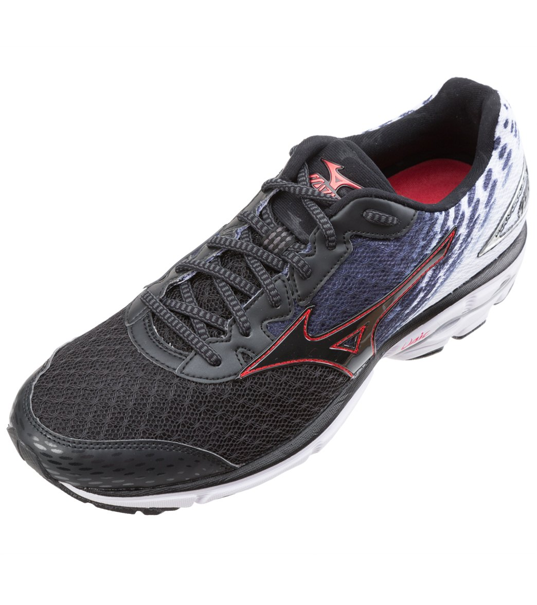 Mizuno Men s Wave Rider 19 Running Shoes at SwimOutlet.com - Free Shipping 4d48756878