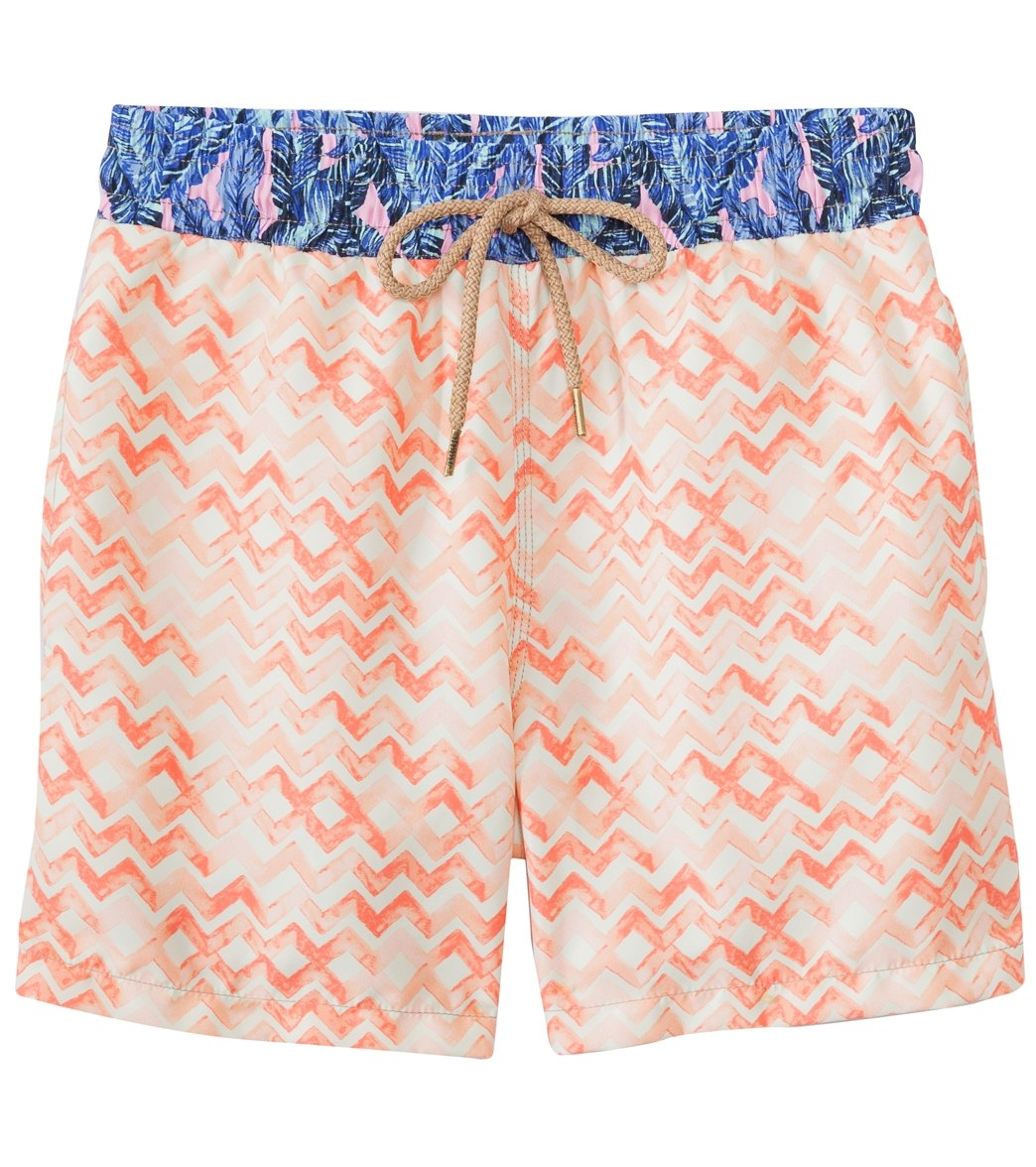 e08356e175 Maaji Men's Watercolor Chevron Swim Trunk at SwimOutlet.com ...