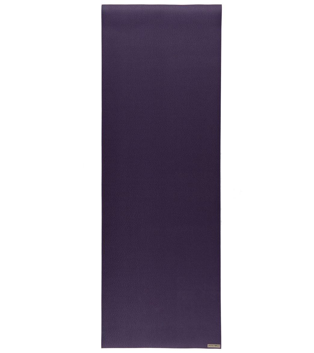 Jade Yoga Fusion Wide Natural Rubber Yoga Mat 71 Quot 8mm
