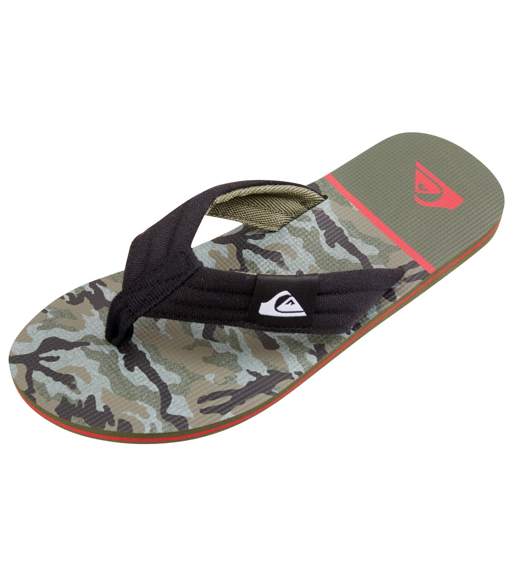 80221a778f3 Quiksilver Youth s Molokai Layback Flip Flop at SwimOutlet.com