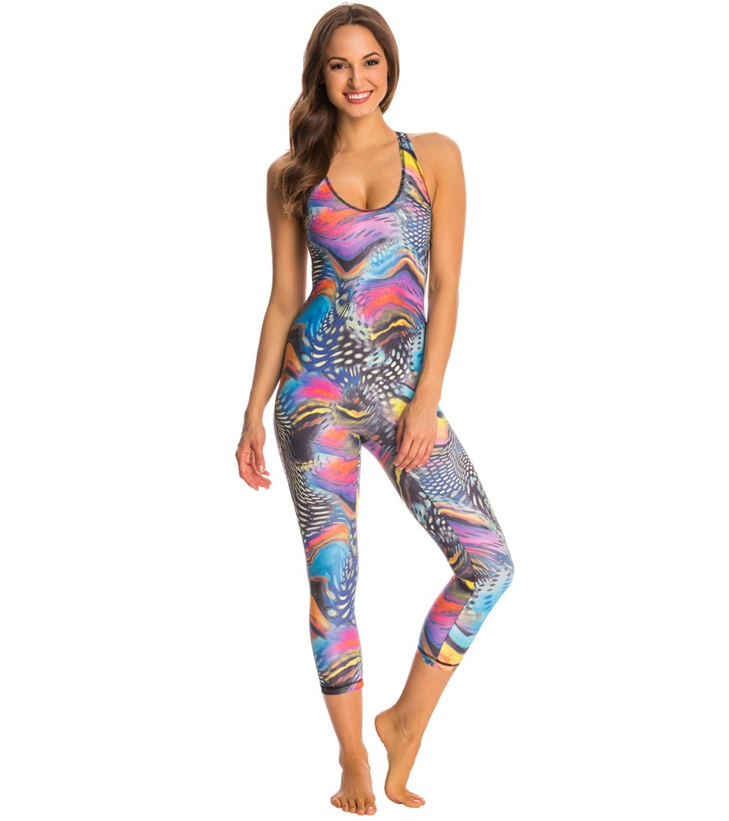 5b955df642a3 SlipIns Synergy Aquarious One Piece Unitard at SwimOutlet.com - Free  Shipping