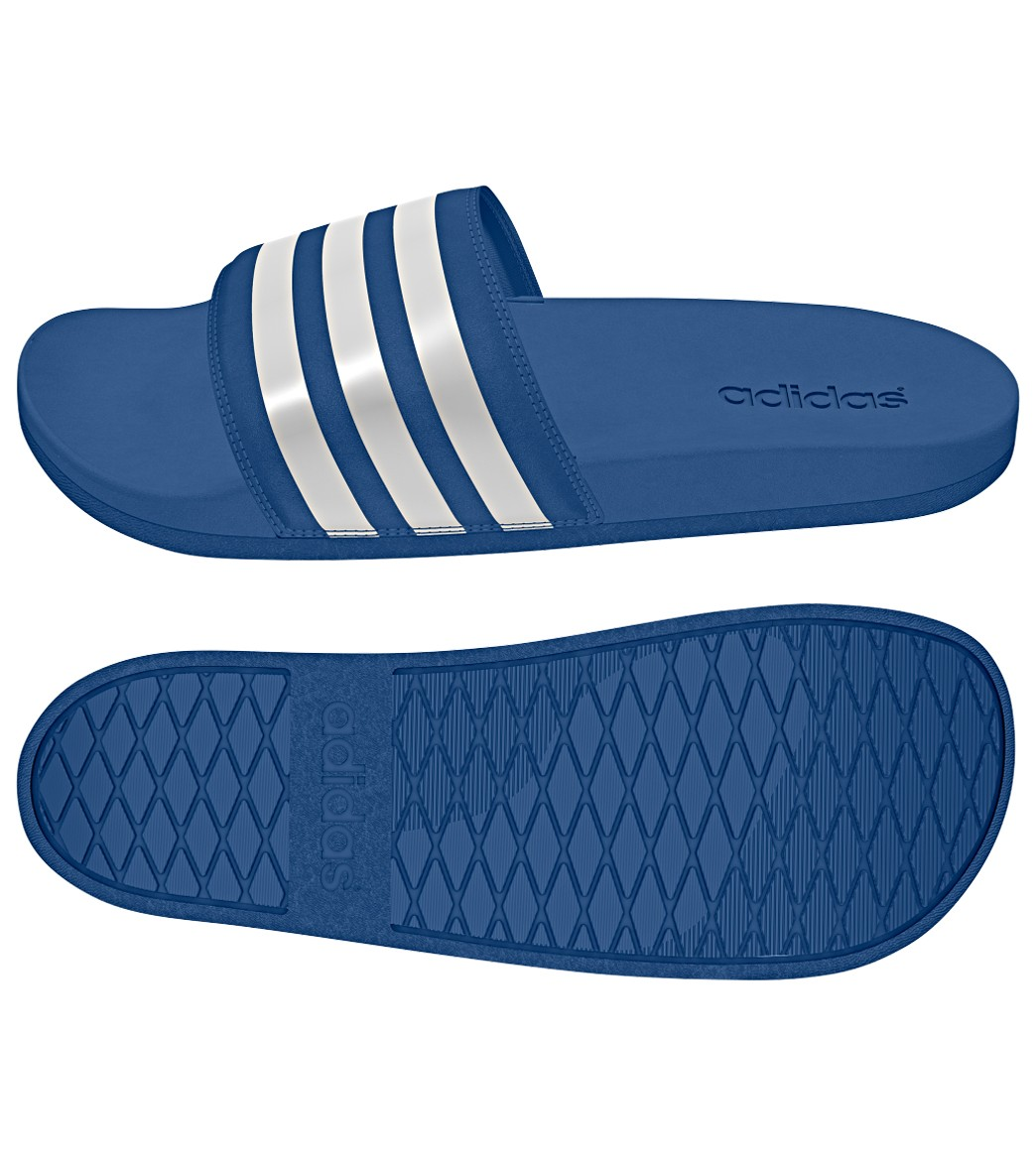 a4d3271995124 Adidas Men s Adilette SC+ Slide Sandals at SwimOutlet.com