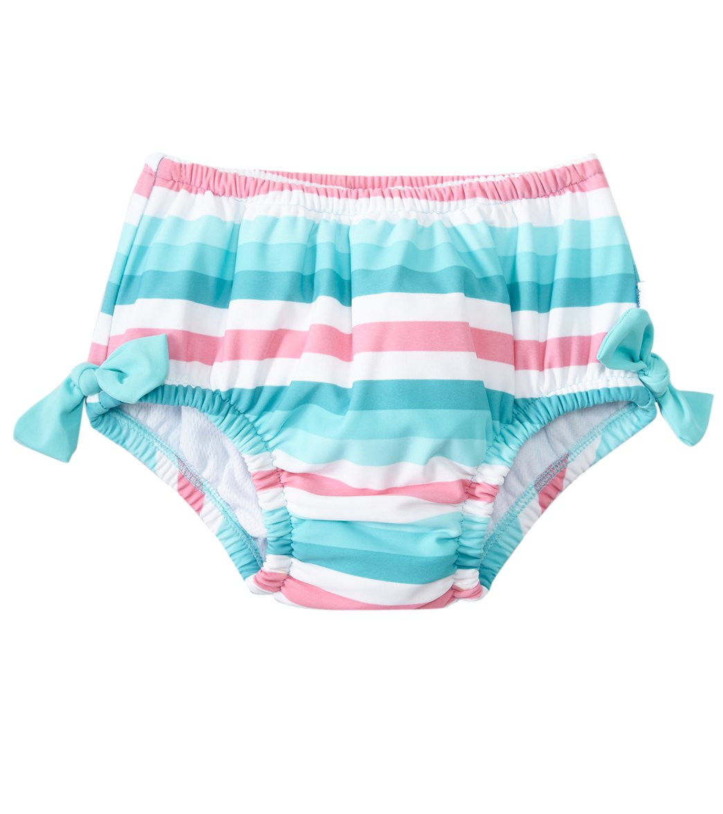 87a9d06642 iPlay Girls' Classic Bow Swimsuit Bottom w/Built-in Swim Diaper (Baby