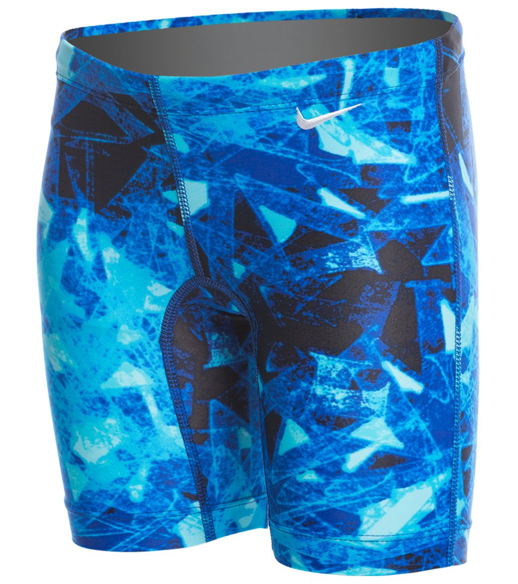 Nike Youth Gemstone Jammer Swimsuit at SwimOutlet.com