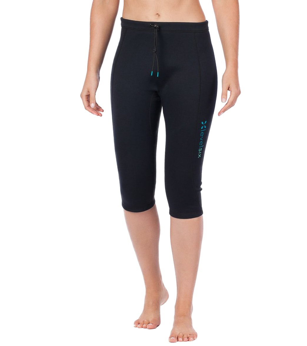 73ca7792a67e9 Level Six Women's 0.5MM Convection Neoprene Wetsuit Capri Pant at  SwimOutlet.com - Free Shipping