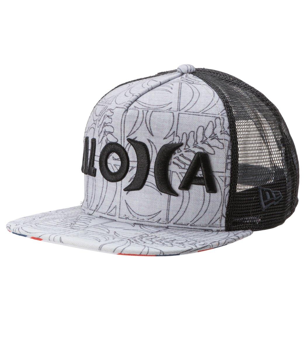Hurley Men s Sig Zane Eolakoa Trucker Hat at SwimOutlet.com 334ce8792563