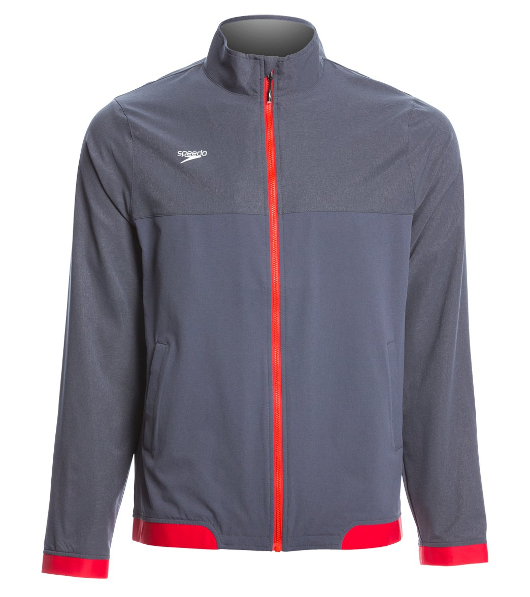 2d6bc83311a Speedo Men's Tech Warm Up Jacket at SwimOutlet.com - Free Shipping