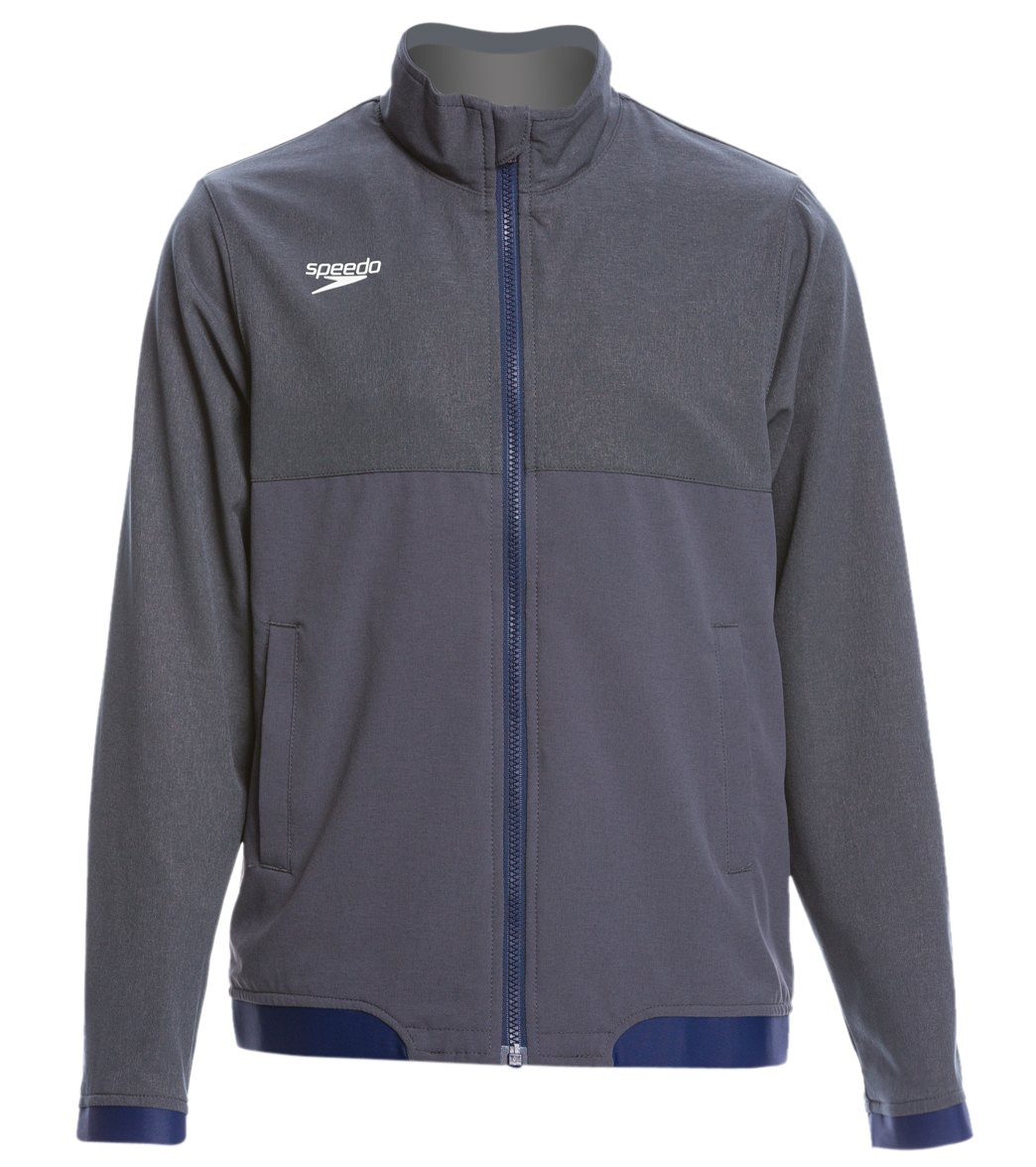 62661eaae9b Speedo Youth Tech Warm Up Jacket at SwimOutlet.com - Free Shipping
