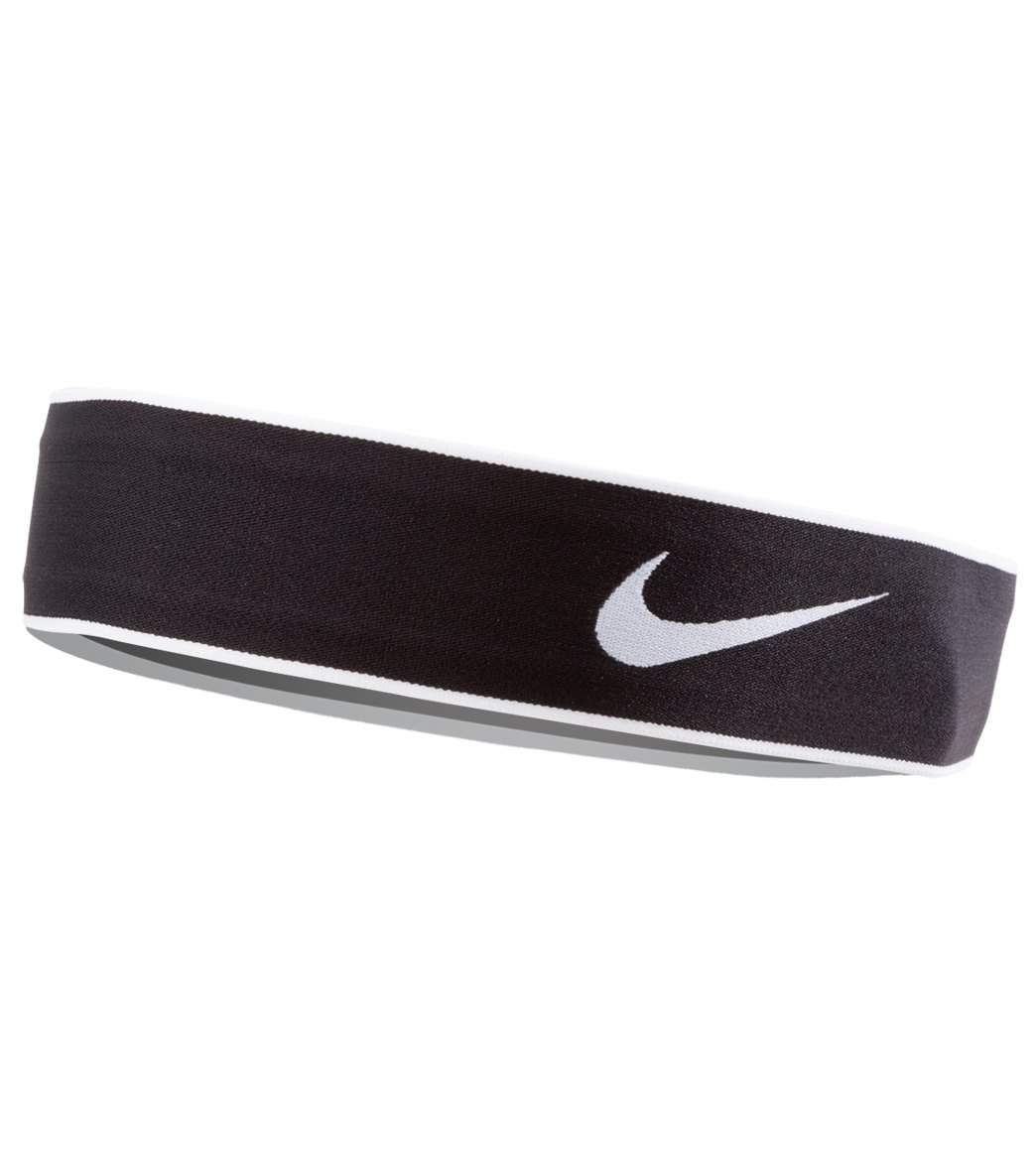 Nike Pro Swoosh Headband 2.0 at SwimOutlet.com eb0d0cdf190