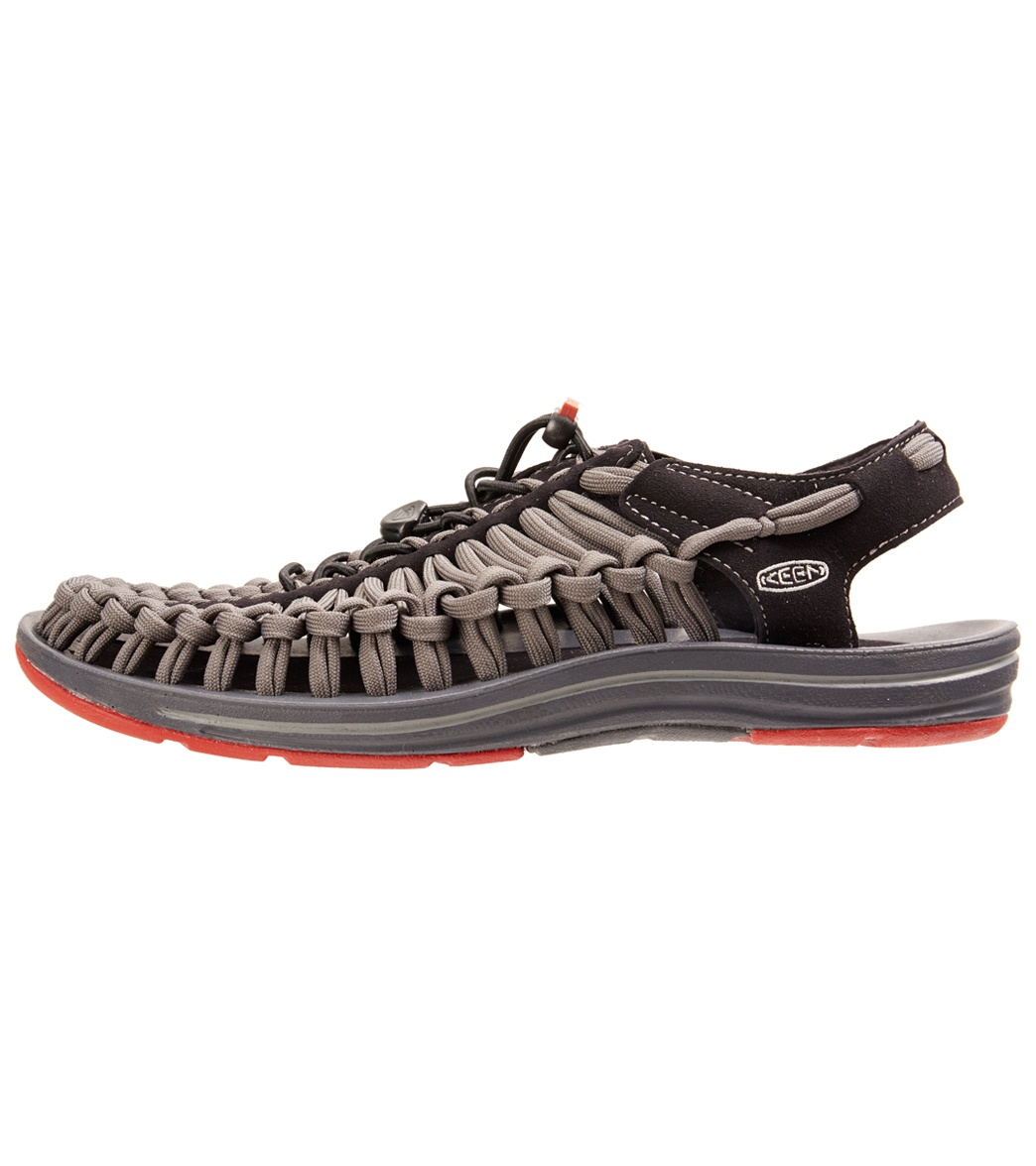 9d2bc991d6ce Keen Men s Uneek Flat Cord Water Shoes at SwimOutlet.com - Free Shipping