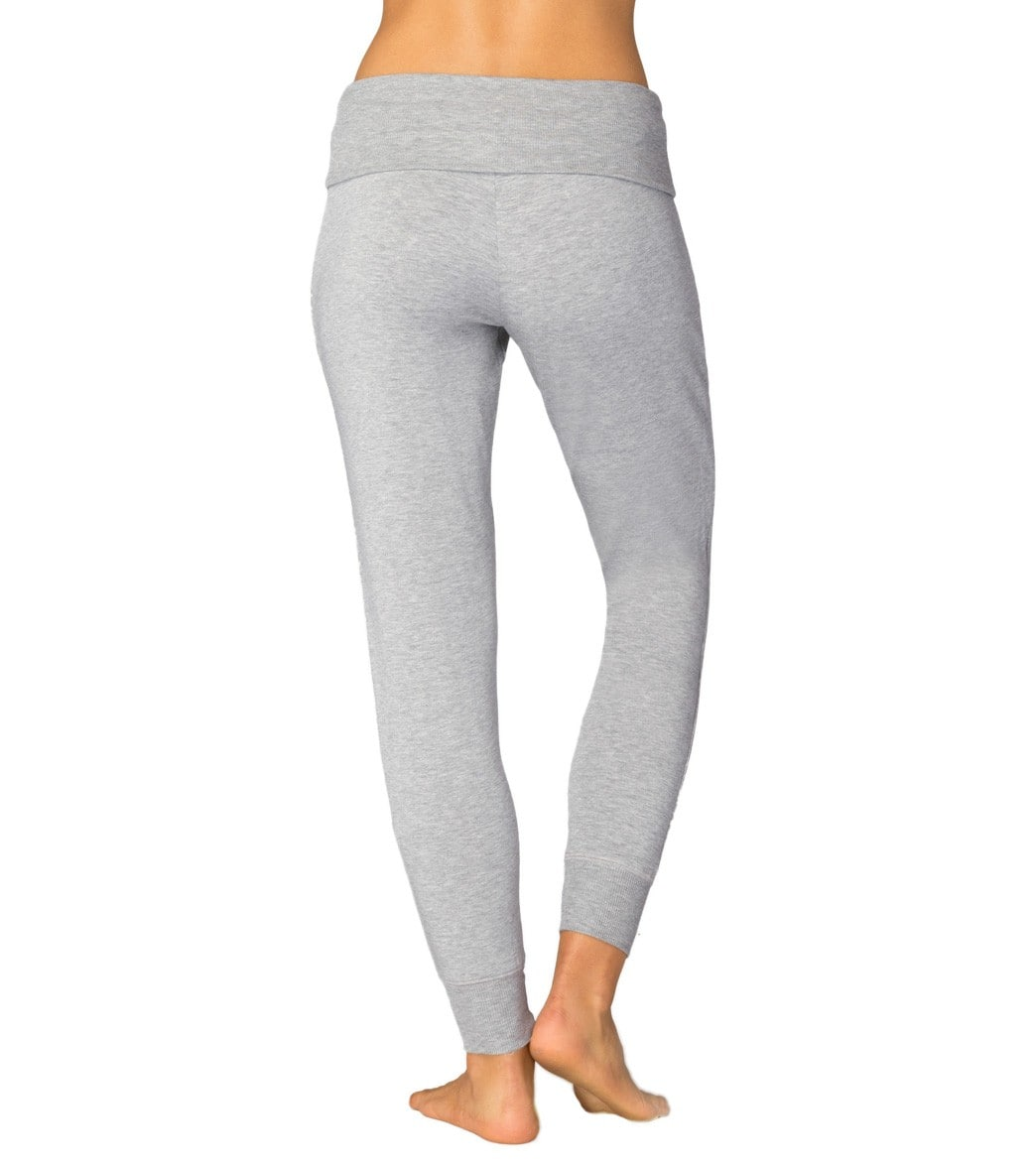 d599e6fd61c7c Beyond Yoga Cozy Fleece Foldover Long Sweatpant Joggers at ...