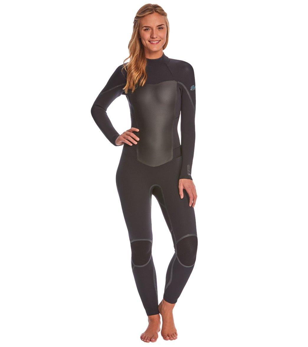 womens Back Zip Fullsuit Wetsuit