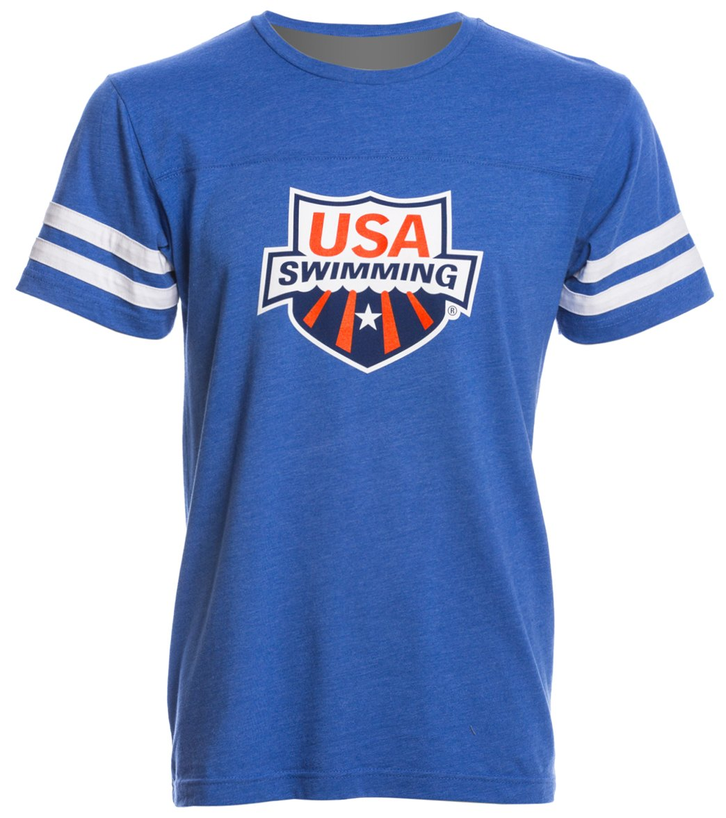 c269cc1e USA Swimming Unisex Swimmer Jersey T-Shirt at SwimOutlet.com