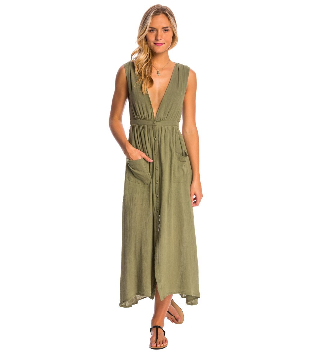 Billabong Voyager Maxi Dress at SwimOutlet.com - Free Shipping