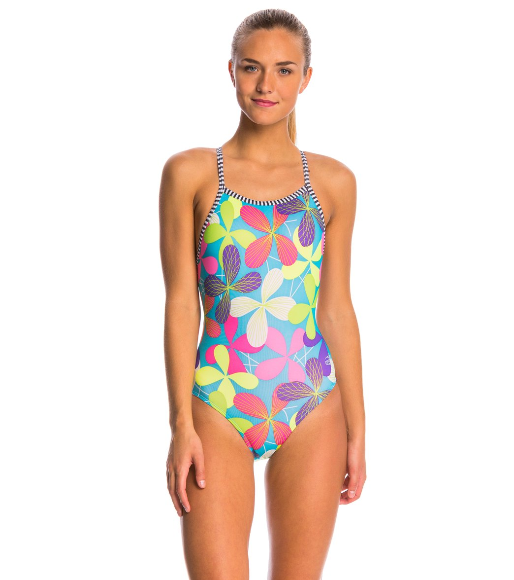 3a5423a4061a Dolfin Uglies Pippi V-2 Back One Piece Swimsuit at SwimOutlet.com