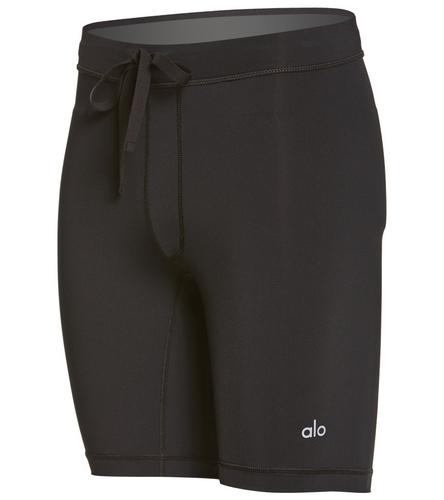Alo Yoga Men's Warrior Compression Yoga Shorts At