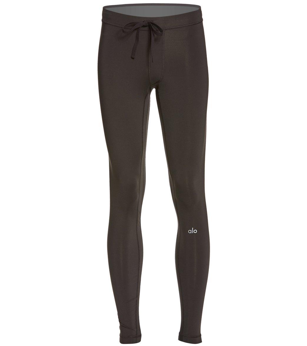 aa3369c271 Alo Yoga Men's Warrior Compression Yoga Pants at SwimOutlet.com - Free  Shipping