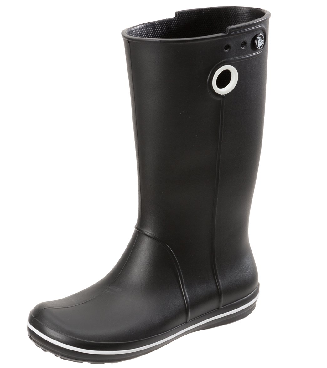 55fb7f50f Crocs Women s Crocband Jaunt Rainboot at SwimOutlet.com