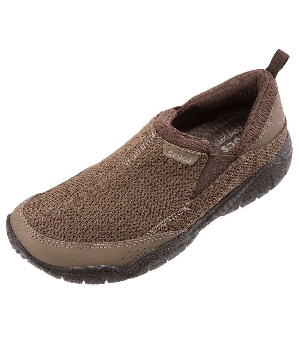 cf871dcab662 Crocs Men s Swiftwater Mesh Moc Slip On at SwimOutlet.com - Free Shipping