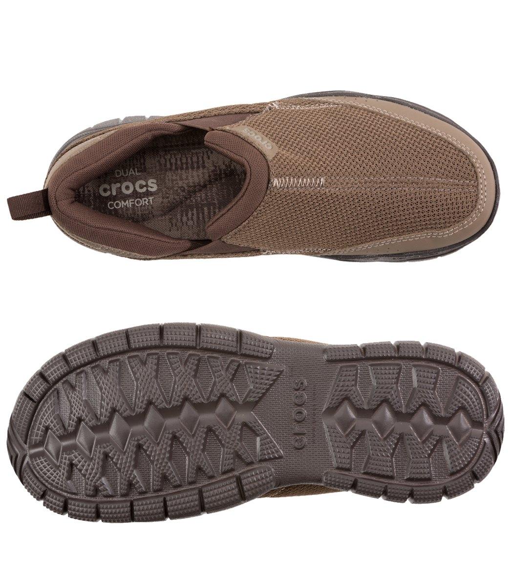 4669e48baeec Crocs Men s Swiftwater Mesh Moc Slip On at SwimOutlet.com - Free ...
