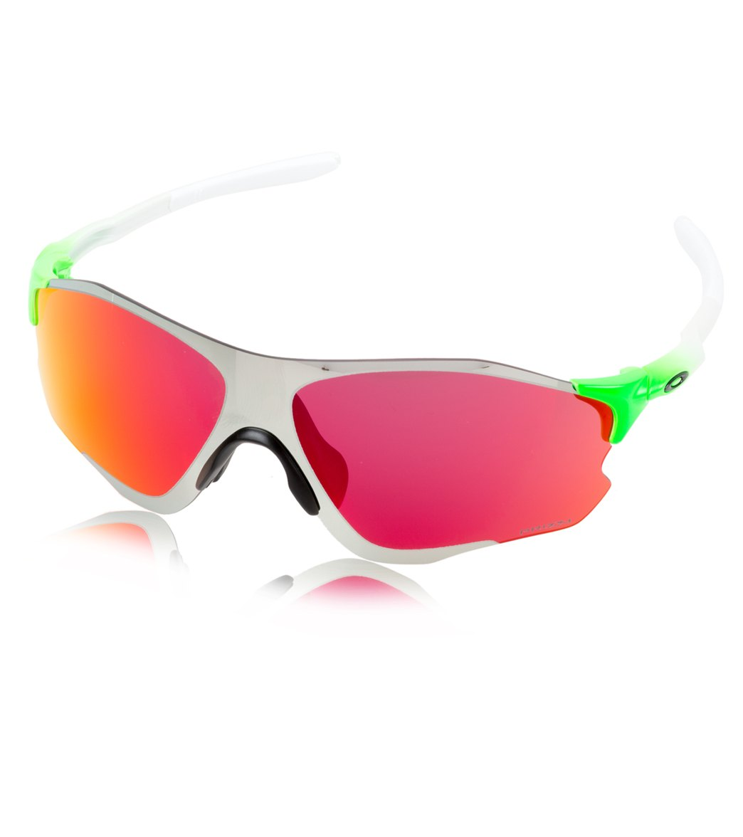 1d9d49418a Oakley EVZero Path Green Fade Sunglasses at SwimOutlet.com - Free Shipping