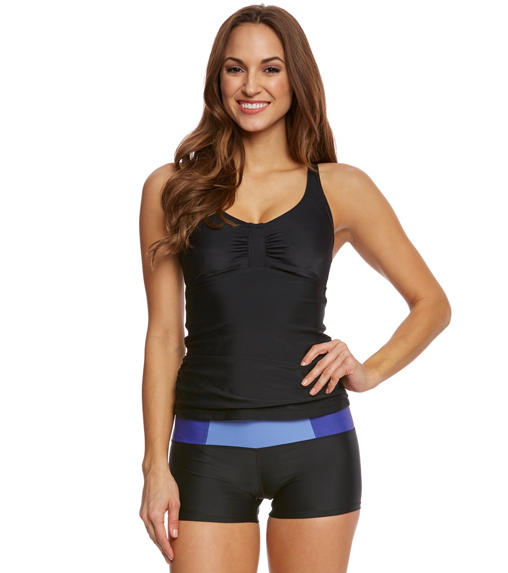 75d6ed78434f0 Prana Women s Aelyn Tankini Top (D-Cup) at SwimOutlet.com - Free ...