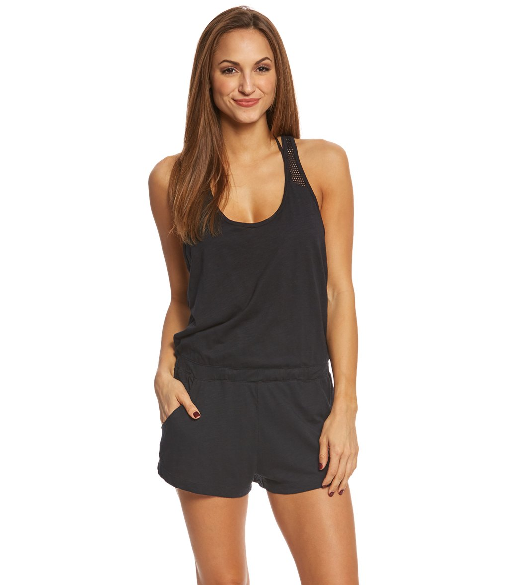 624d76c5f6c24 ... Speedo Women's Romper Cover Up. Play Video. MODEL MEASUREMENTS
