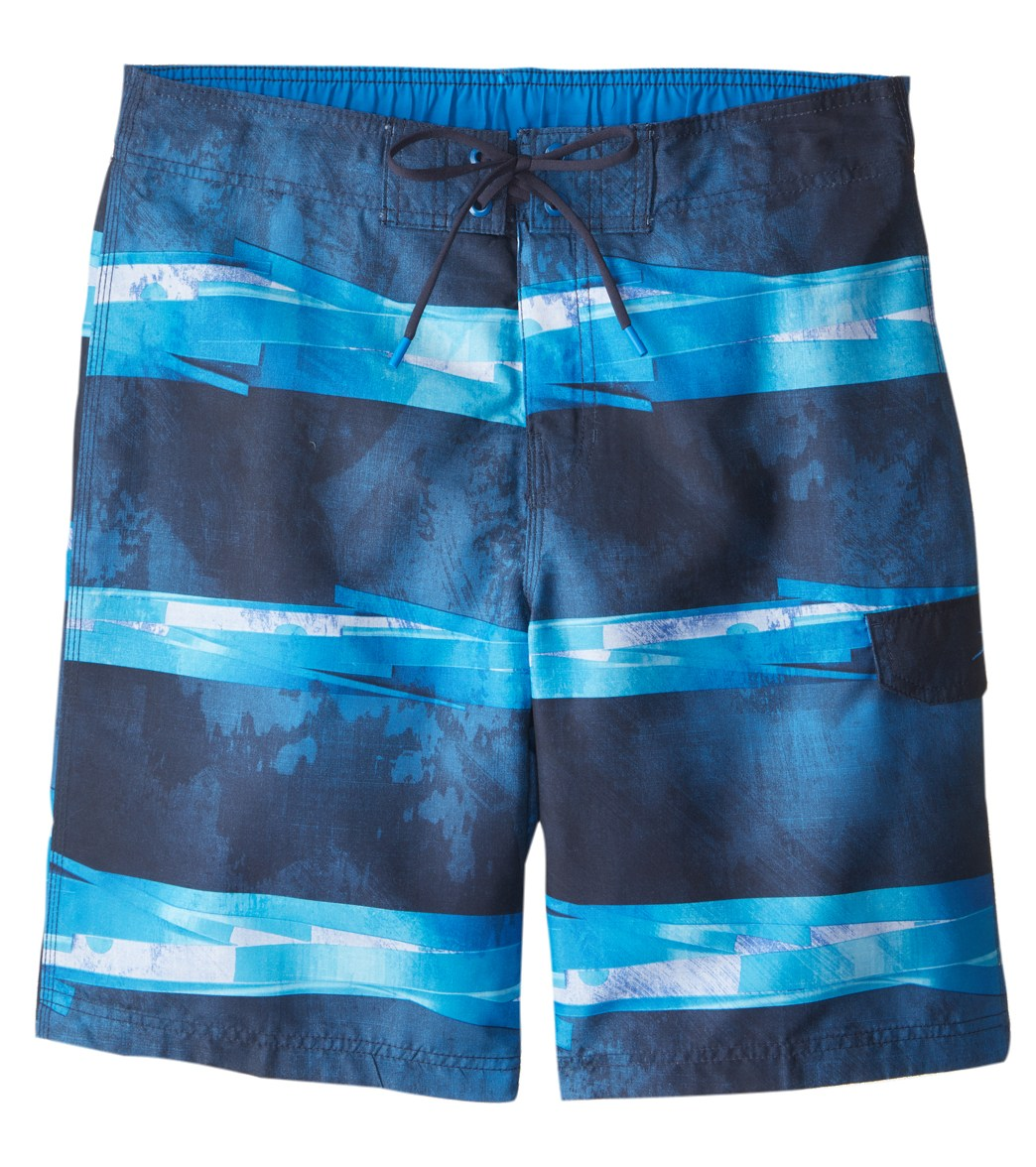 83eb99d208 Speedo Men's Setting Sun Stripe E-Board Short at SwimOutlet.com ...