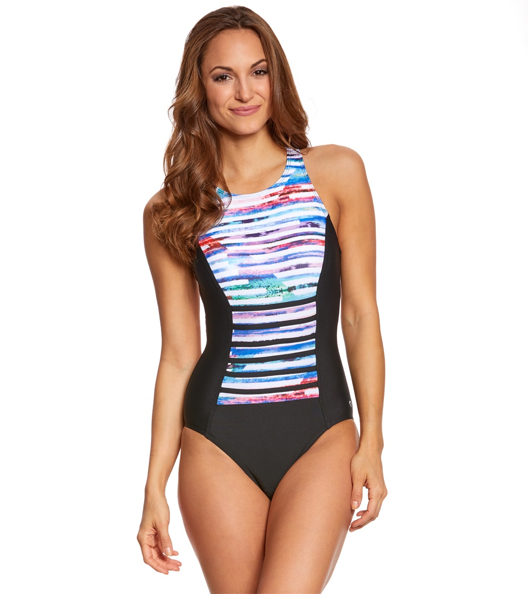 af7f8a9acec Next Women's Perfect Alignment Rejuvinate One Piece Swimsuit
