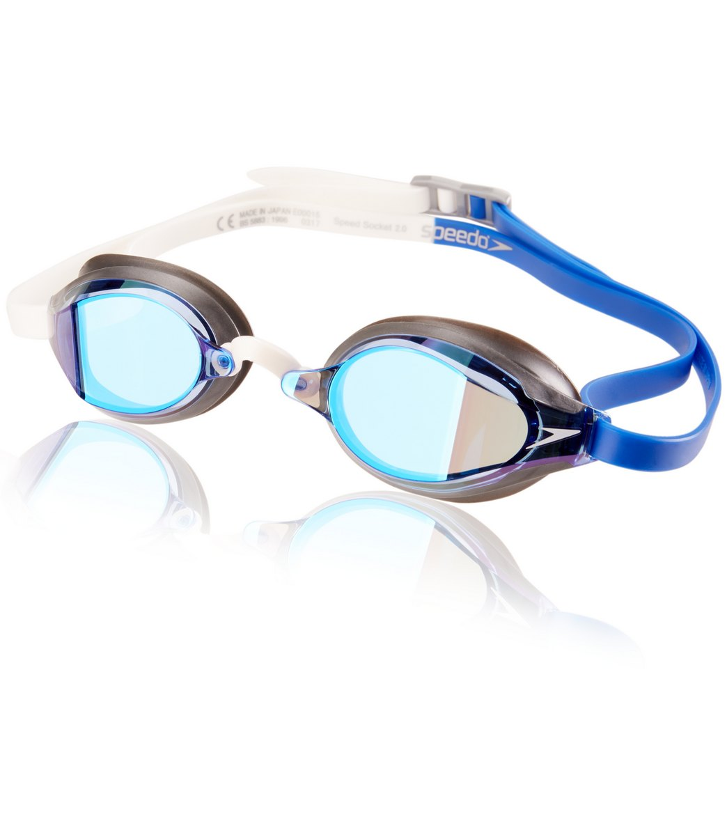 a32c81840dce0 Speedo Speed Socket 2.0 Mirrored Goggle at SwimOutlet.com