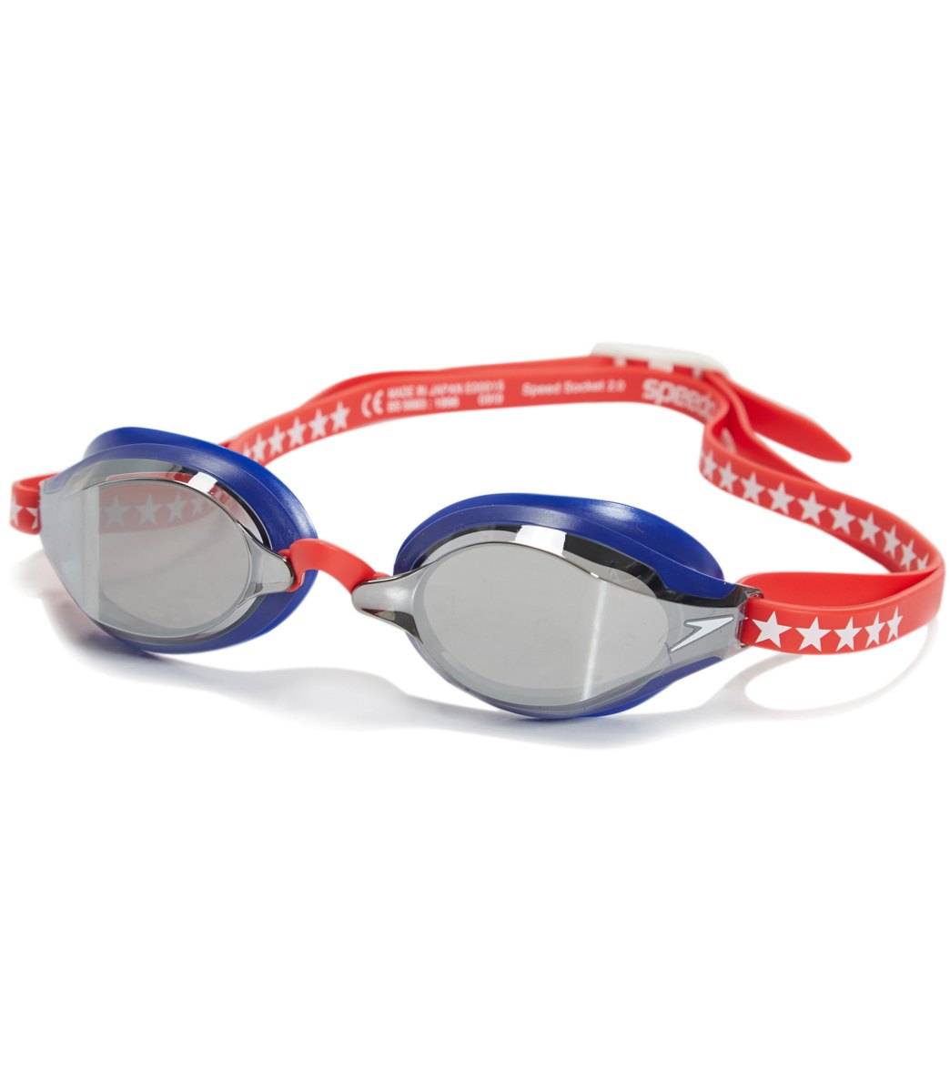 Speedo Speed Socket 2.0 Mirrored Competition Goggles