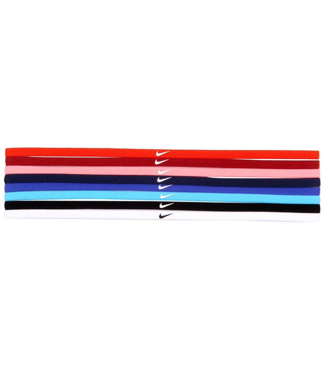 Nike Skinny Hairbands (8 Pack) at SwimOutlet.com 80929e696b4e