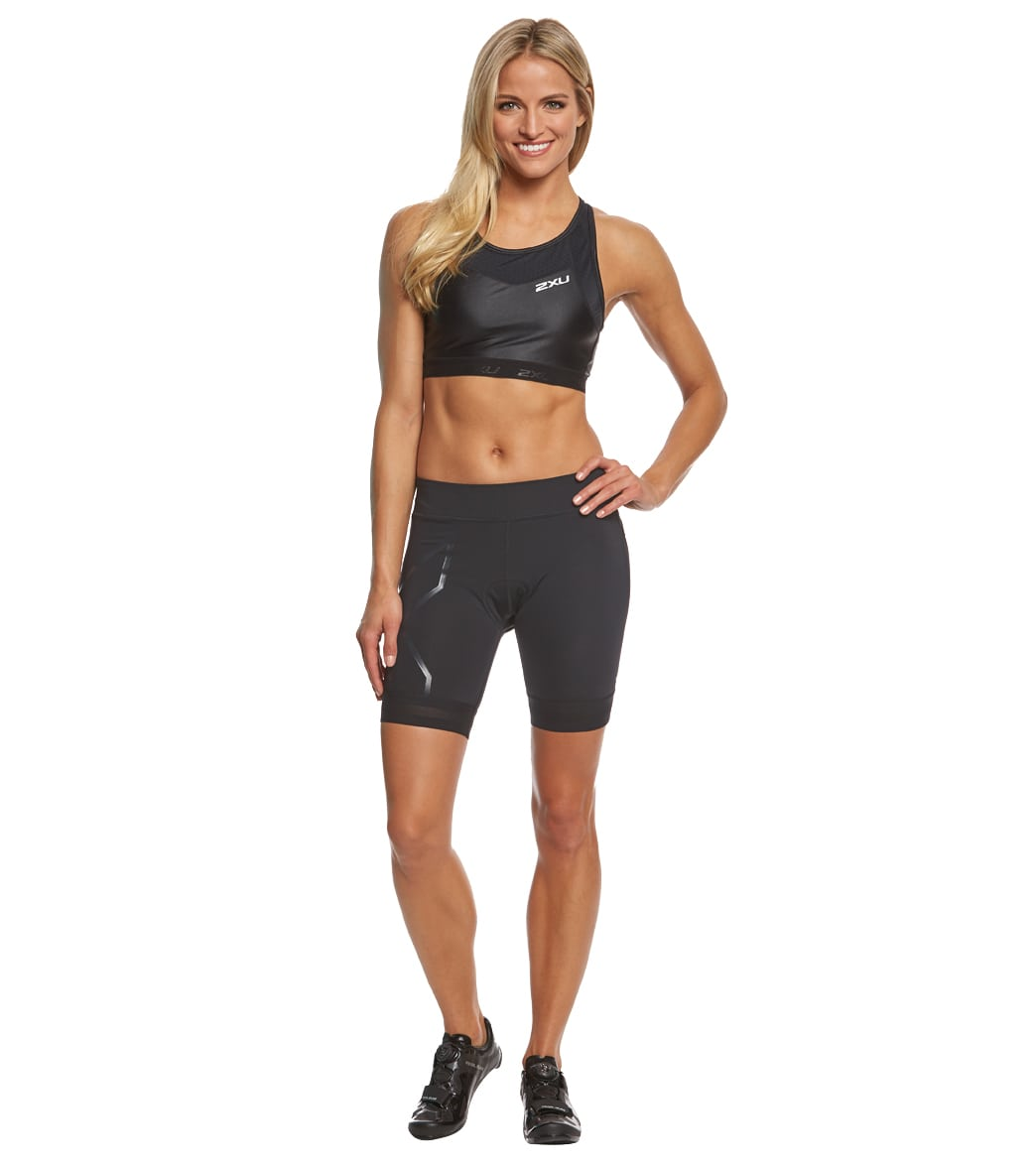 2XU Women s Compression Tri Short at SwimOutlet.com - Free Shipping 6b00a483701a9