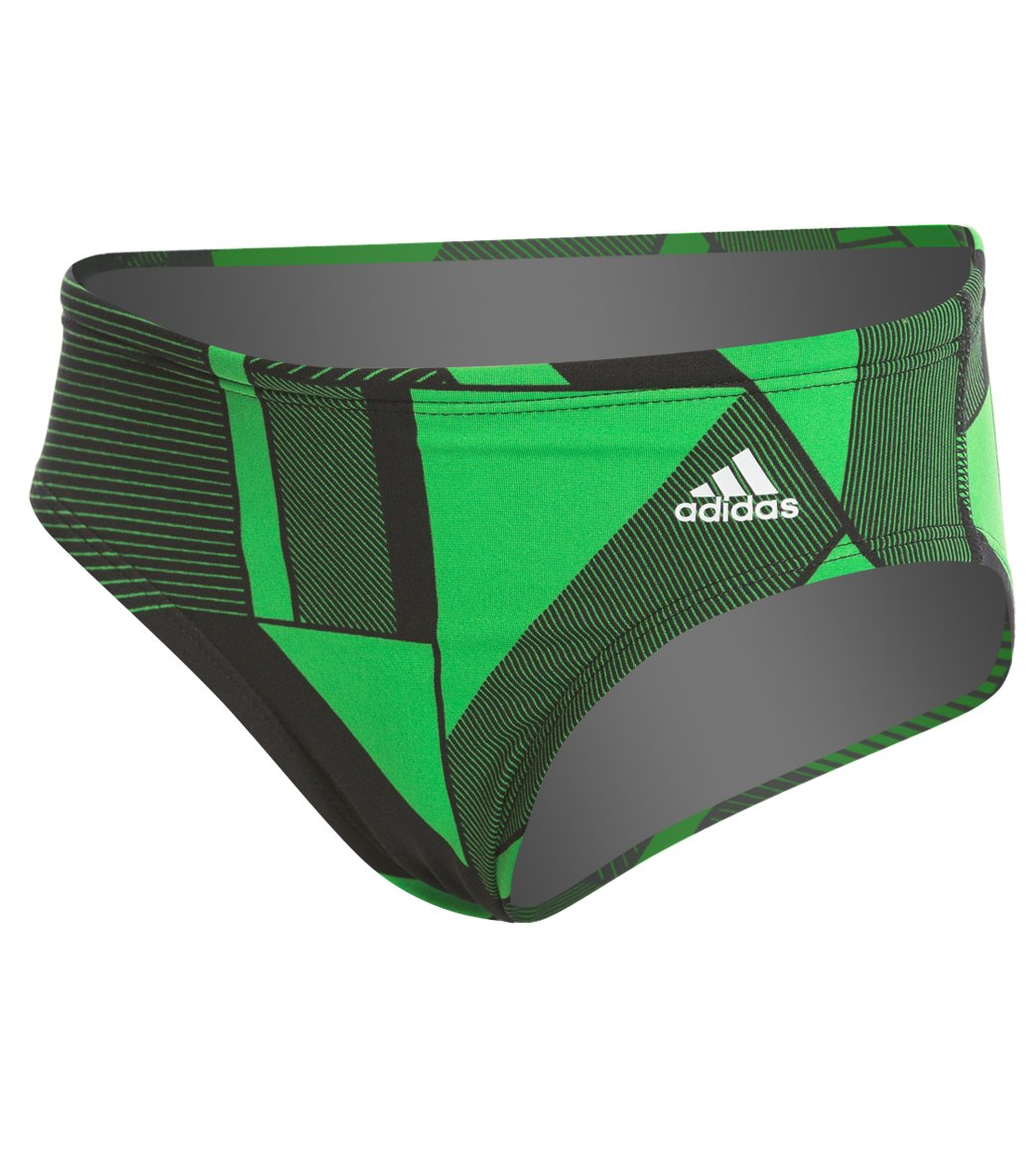 edace01370 Adidas Boys' Sport DNA Brief Swimsuit at SwimOutlet.com