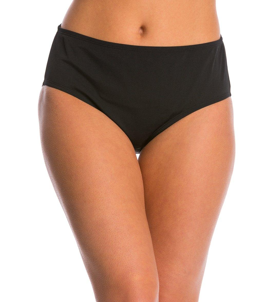 d0659f08dfc1b Adidas Women s High Waist Swimsuit Bottom at SwimOutlet.com - Free Shipping