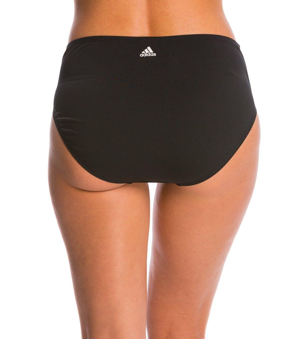 916cf1b2ff Adidas Women's High Waist Swimsuit Bottom at SwimOutlet.com - Free ...