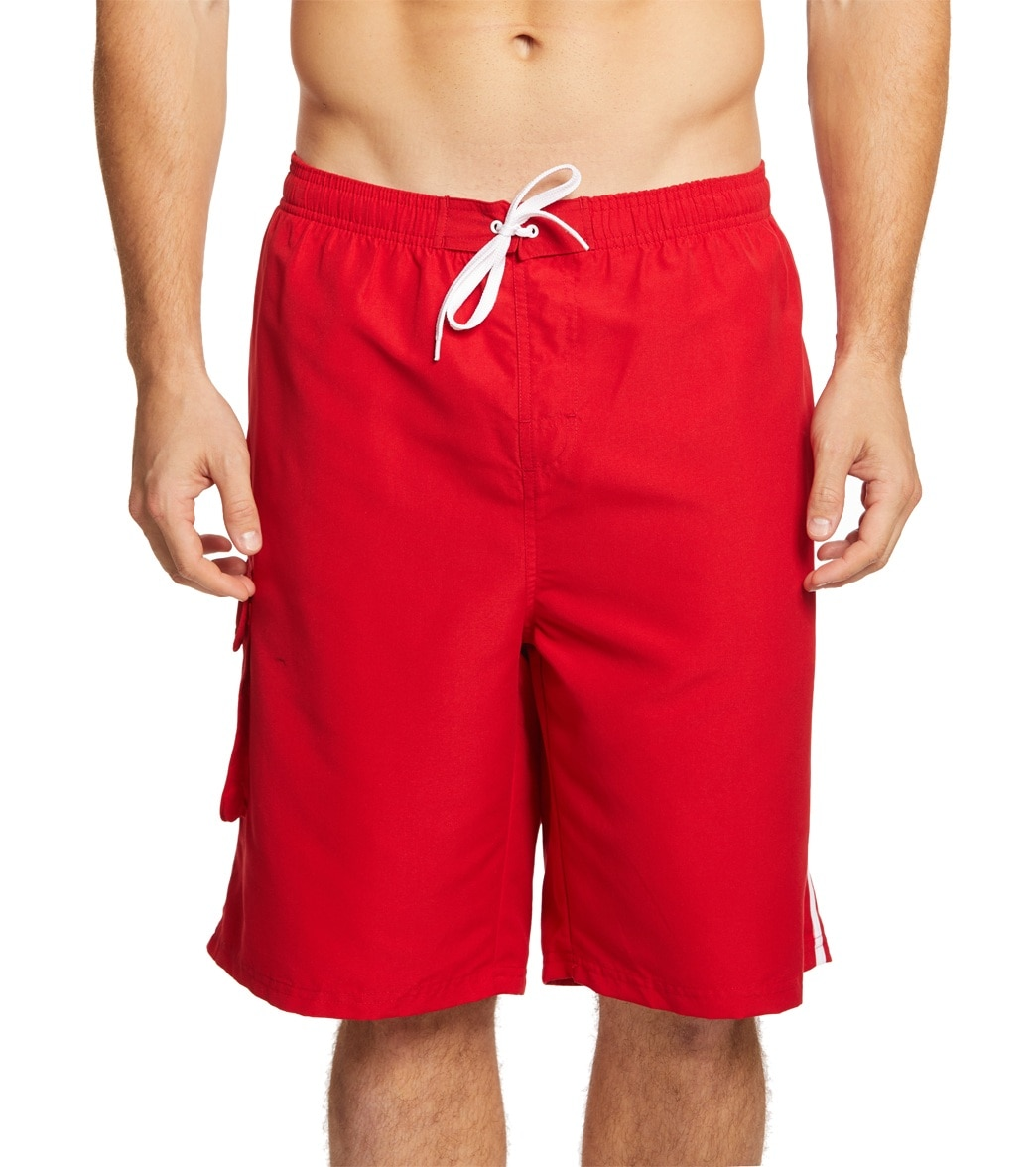 823943b7eed2 Sporti Guard Men s Cargo Swim Trunk at SwimOutlet.com