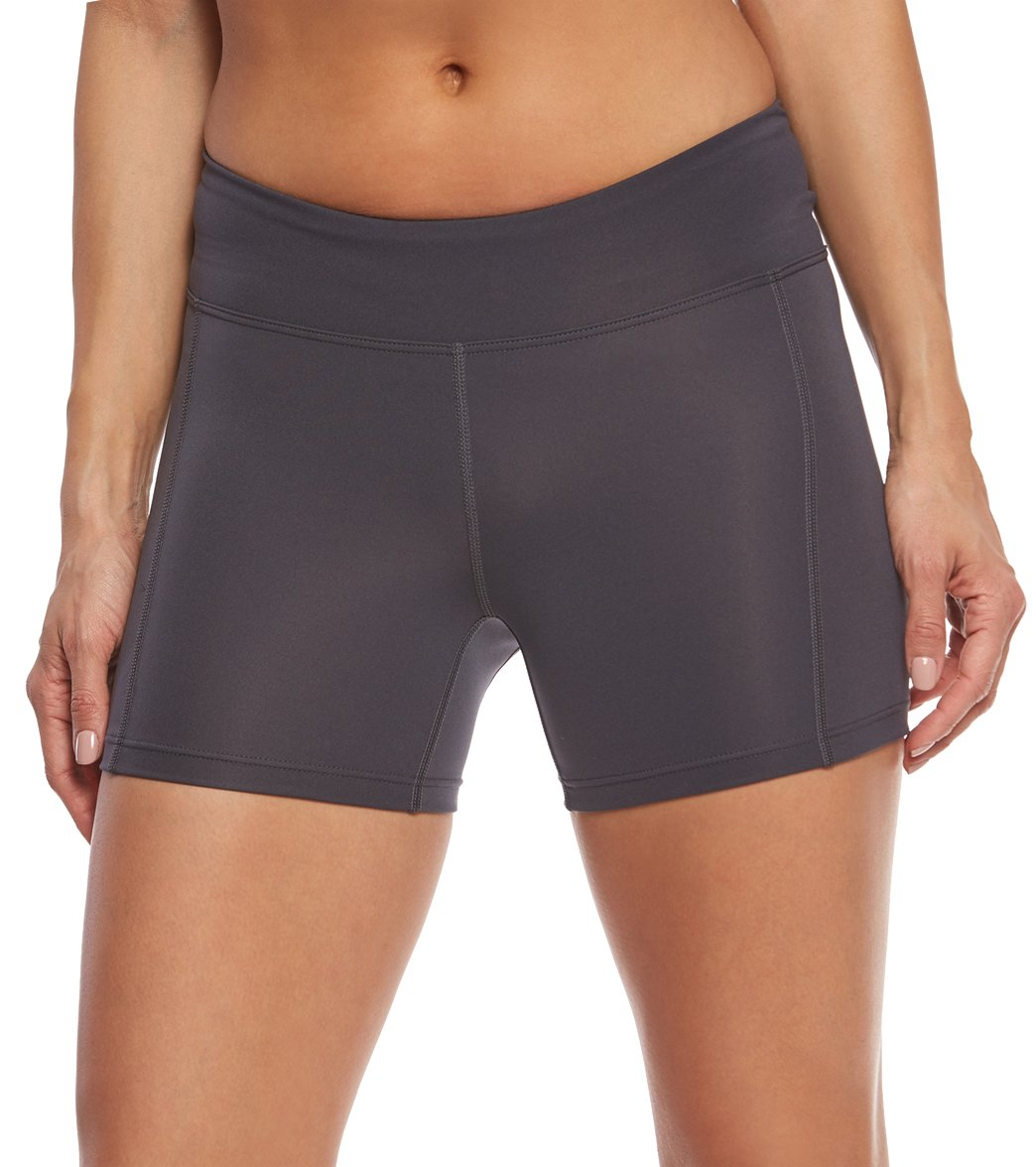 952fe894e301e TYR Women's Solid Kalani Swim Short at SwimOutlet.com