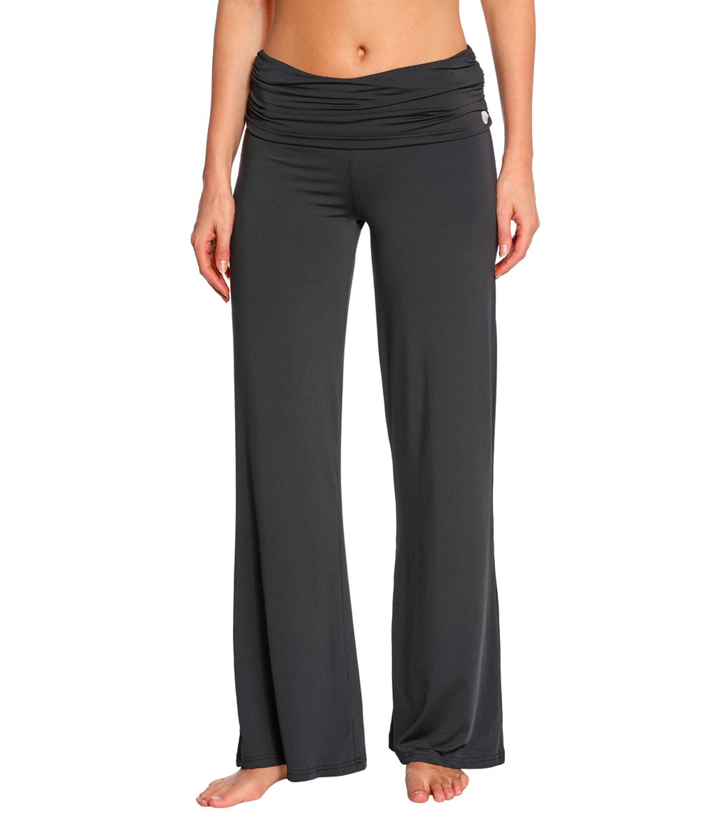 Women's Wide Leg Yoga Pants at YogaOutlet.com