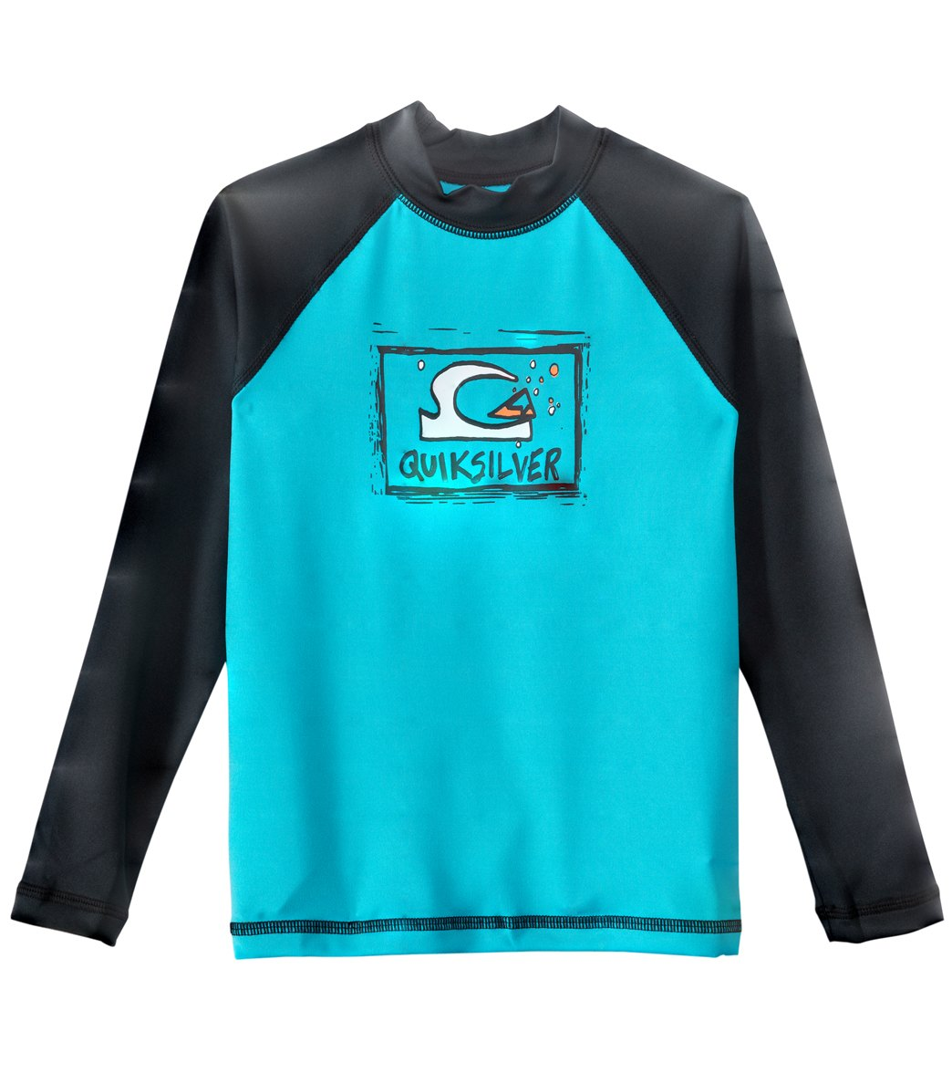 de3ddd838a Quiksilver Infant Bubble Dream Lu002FS Rashguard