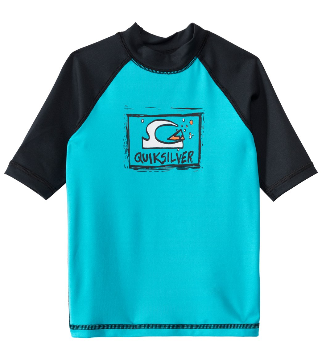 c5a91b0421 Quiksilver Boy's Bubble Dream Su002FS Rashguard