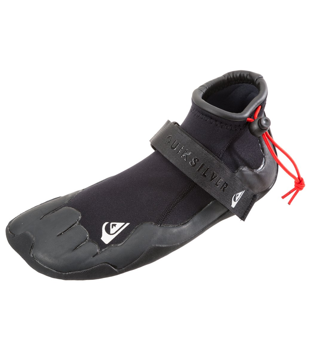 0a26c33f3 Quiksilver Men's 2mm Syncro Round Toe Surf Bootie at SwimOutlet.com