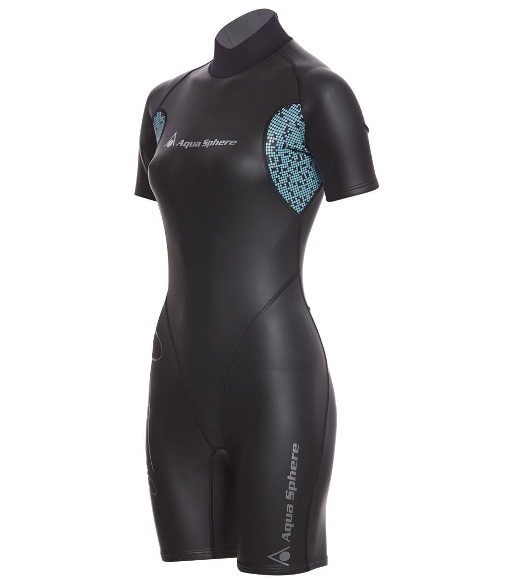 85b0d025d68 Aqua Sphere Women s WT80 Shorty Wetsuit at SwimOutlet.com - Free ...