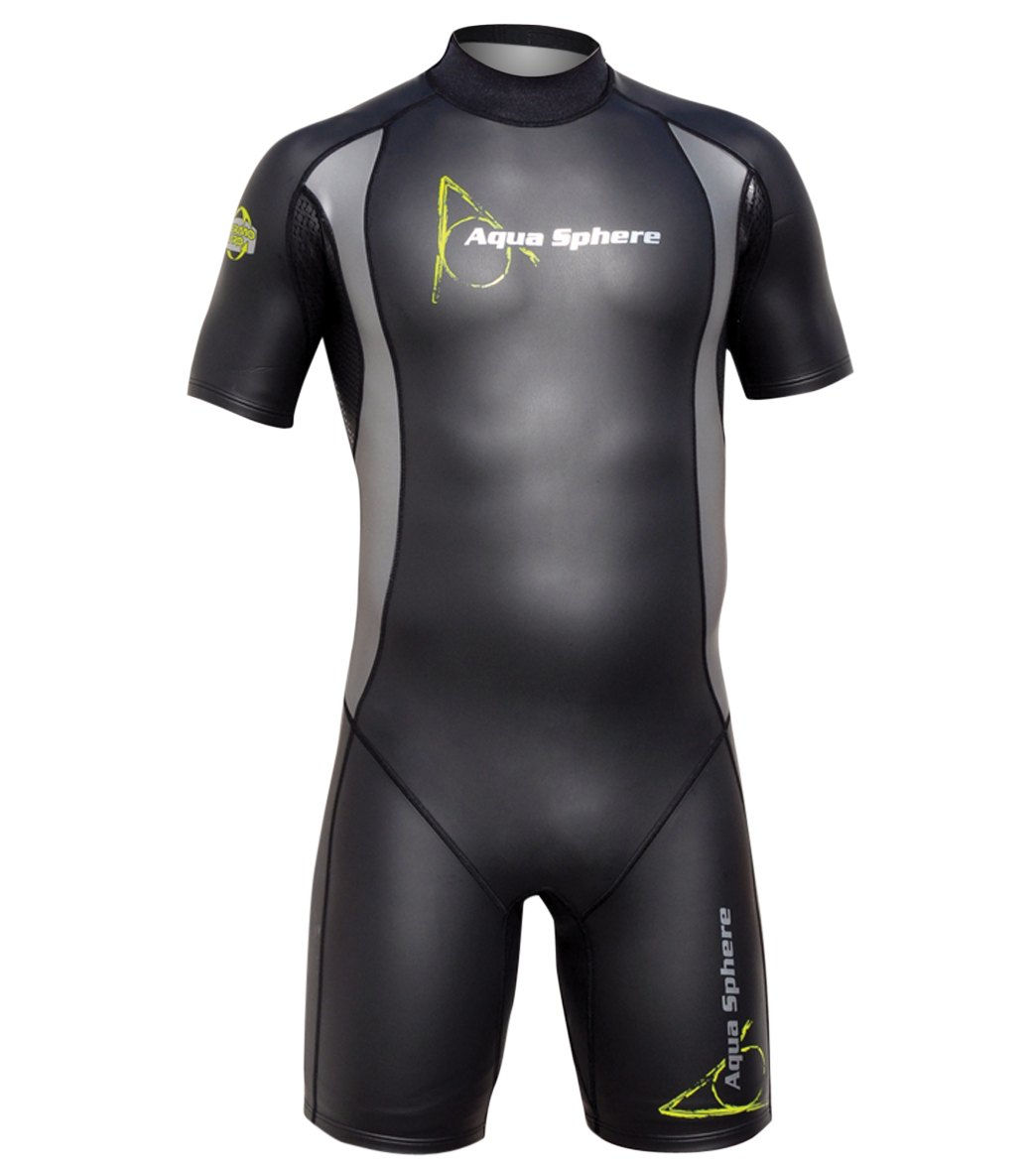 0d2c9905d5c52a Aqua Sphere Men s WT80 Shorty Wetsuit at SwimOutlet.com - Free Shipping